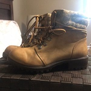 Mia Girls Brown Boots